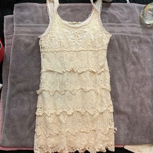 Crotchet lace dress forever 21 H&M forever 21